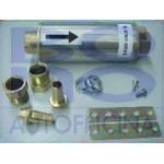 Filtro esterno presa carica tubo rame diametro 8