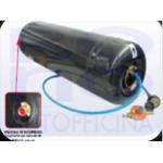 Serbatoio cilindrico ICOM per camper - doppia camera - Ø 270 X L. 720 - l. 30+4  - sensore di livello escluso (vedi correlati)