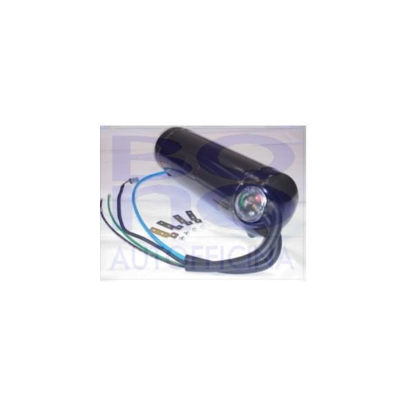 Serbatoio cilindrico ICOM T95 JTG - D. 270, L. 840 (870), LT 42
